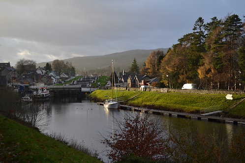 Fort Augustus by Loch Ness, Scotland