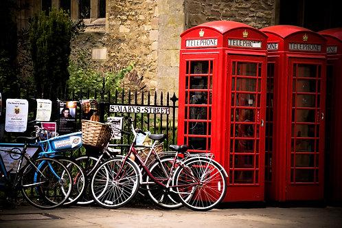 Phone Booths in Cambridge, UK