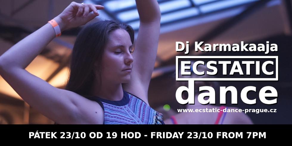 Dj Karmakaaja Ecstatic Dance 23.10. - Praha (Zrušeno)
