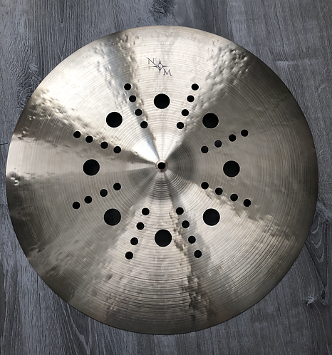 "22"" Custom Shop Static Crash-Ride"