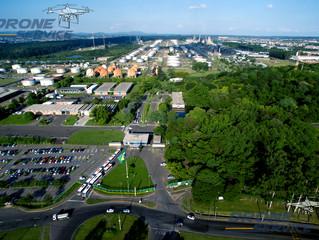 Fotos corporativas com drone