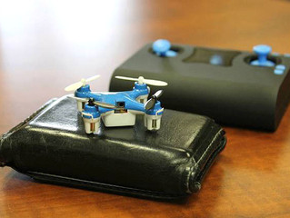 O menor drone do mundo cabe no seu bolso; conheça