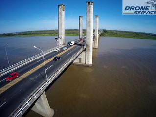 FOTOS COM DRONE: Ponte do Guaíba