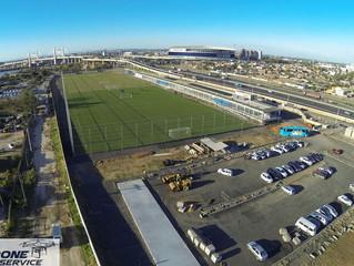 Fotos com Drone: Novo CT do Grêmio