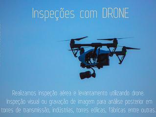 Inspeções com drone