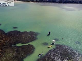 FOTOS COM DRONE: Praia de Pajuçara
