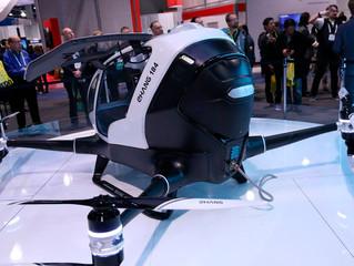 Drone gigante que pode transportar pessoas