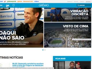 Drone Service é destaque no GloboEsporte.com