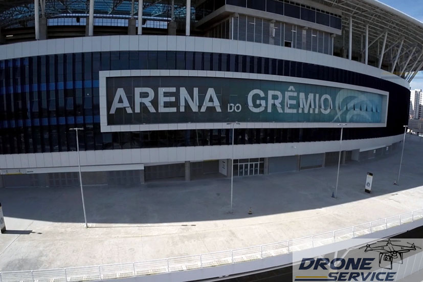 FOTOS COM DRONE: Arena do Grêmio