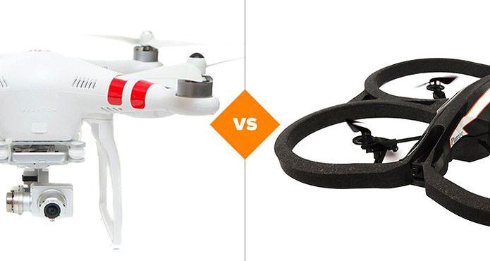 Phantom ou Parrot, qual é o melhor drone do mercado? (Foto: Arte/TechTudo)
