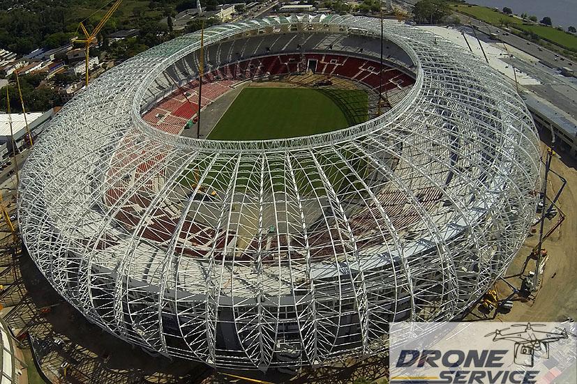 Obras do estádio Beira-Rio