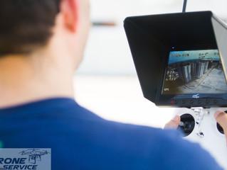 FOTOS COM DRONE: Sistema FPV  (First Person View) para realizar trabalhos de grandes proporções.