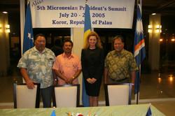 Palua Presidents Summit, 2005 petra & 3 Presdients (4).jpg