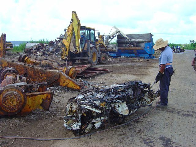 Niue scrap metal torched.JPG