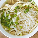 #116 Sliced Chicken Breast Rice Noodle Pho