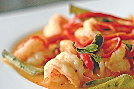 Shrimp in Sweet Coconut Sauce menu #476. Flavourful, freshly made with quality ingredients.
