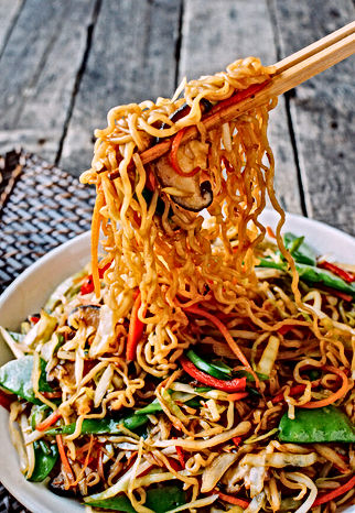 Vegetable Ramen Noodles menu #65. Flavourful, freshly made with quality ingredients.