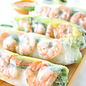504	Fresh Shrimp Roll (ask for no ham, switch sauce)