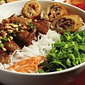 BBQ Meat Vermicelli Bowl