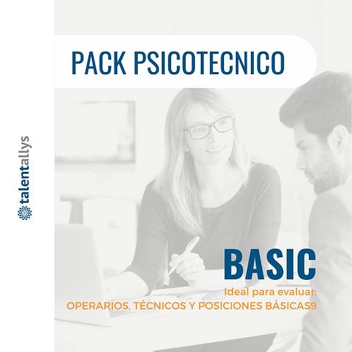 PSICOTECNICO - PERFIL BÁSICO