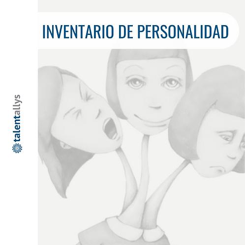 INVENTARIO DE PERSONALIDAD