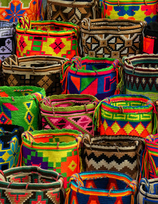 Bolsos Wayuu, Colombia