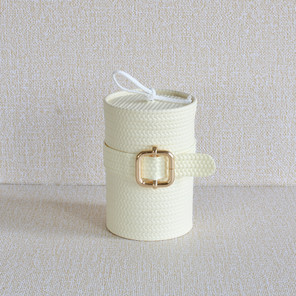 BELTED LEATHER CANDLE (W)
