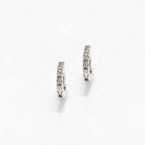 Mini Huggie Earrings (925 Silver)