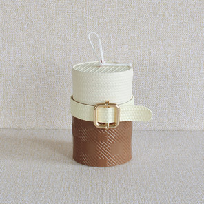 BELTED LEATHER CANDLE
