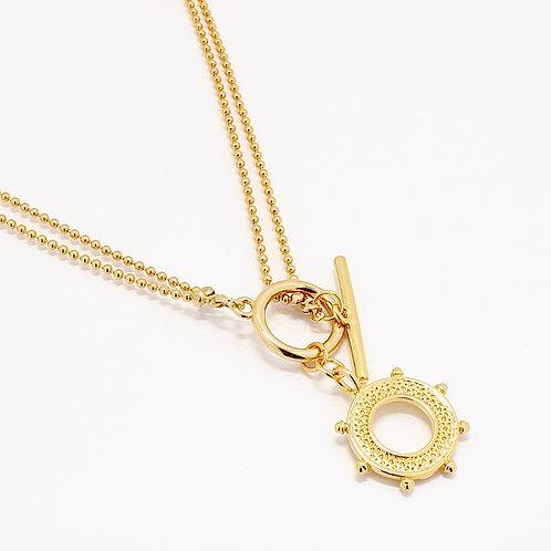 Tiller Charm Necklace