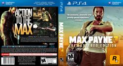 Max Payne 3 Box Art