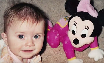 Baby Kelly with Baby Minnie Mouse