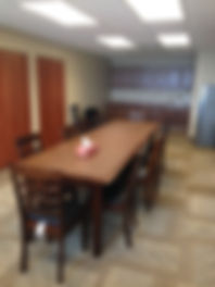 Table in Conference/Dining Room