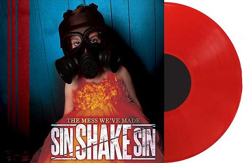 """""""The Mess We've Made"""" - Full Length Album (2020) (RED 180 GRAM VINYL RECORD)"""