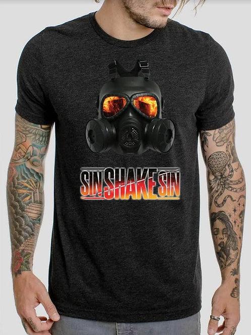 Sin Shake Sin - GAS MASK - T-shirt