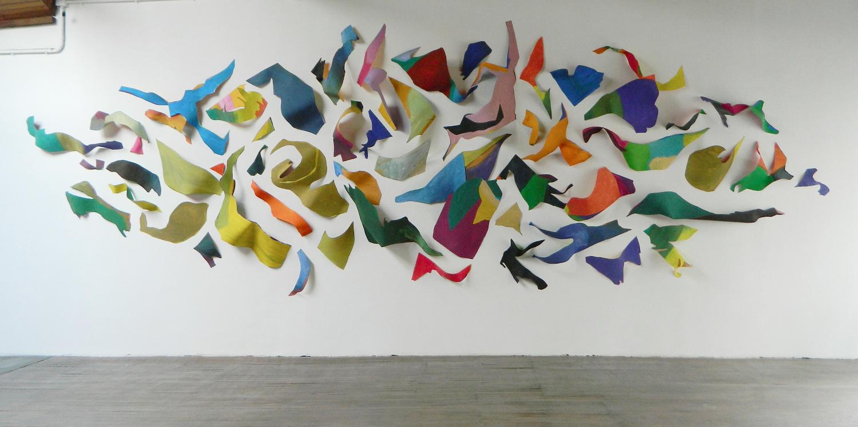 Three-dimensional painting, 2015