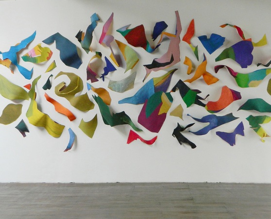 Three-dimensional painting, 2015
