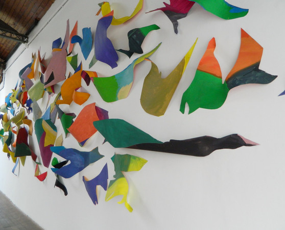 Three-dimensional painting, 2015   detail