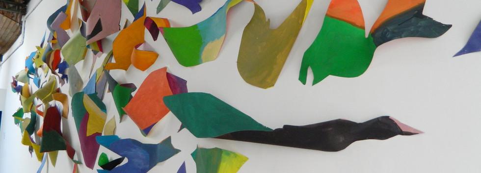 Three-dimensional painting, 2015 | detail