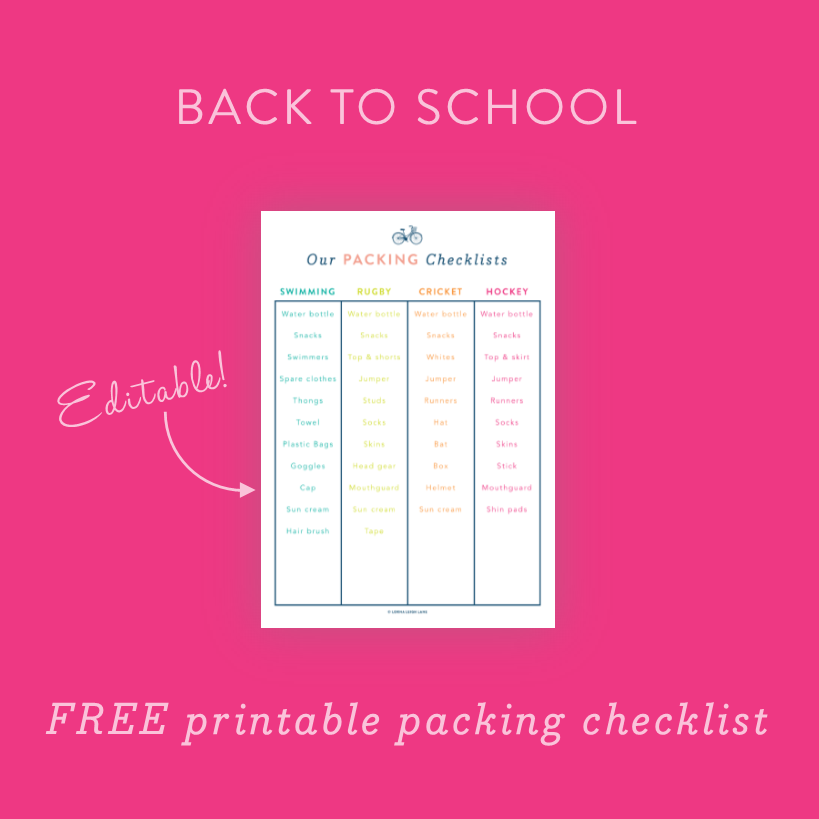 Free printable editable kids morning routine chart