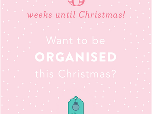 6 weeks until Christmas!