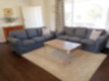 Living room at Kibeggan Cottage