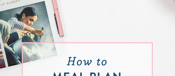 How to meal plan {and some free printables}