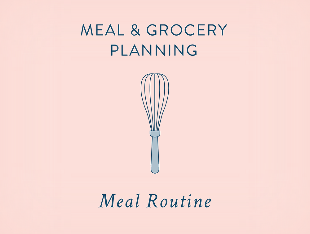 Meal Planning - Meal Routine