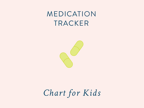 Tracking Your Childrens Medication