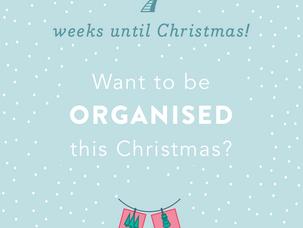 7 weeks until Christmas!