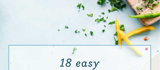 18 easy meal routine ideas