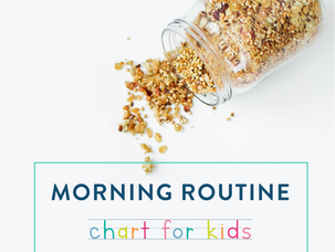 Back to school: kids' morning routines