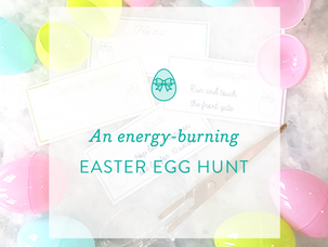 Easter Activity: an energy-burning Easter Egg Hunt