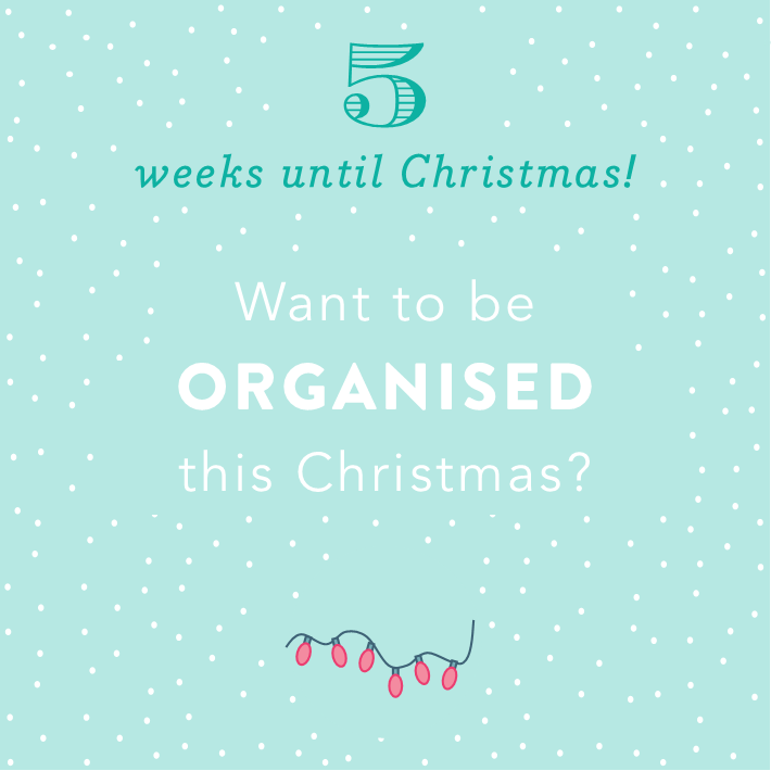 Christmas Countdown: 6 weeks until Christmas